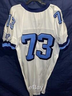Nike North Carolina Tar Heels Unc Équipe De Football Délivré Jersey # 73 Taille 60