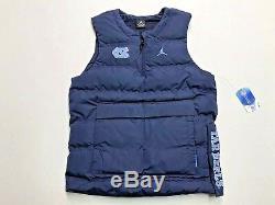 Nike North Carolina Tar Heels Unc Jordan Pull Gilet Protect Shield Hommes Small