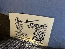 Nike React Element 55 Unc North Carolina Tarheels Mens Taille 11.5 Marine Ck4852-400