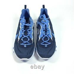 Nike React Element 55 Unc Tar Heels De Chaussures Pour Hommes De Taille 11