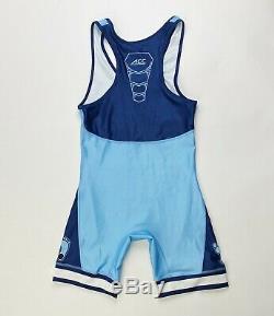 Nike Team Unc Caroline Du Nord Tar Heels Acc Lutte Petit Unitard De Singlet Hommes