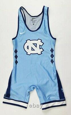 Nike Team Unc North Carolina Tar Heels Acc Wrestling Singlet Men's Small Unitard