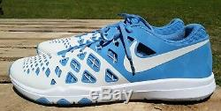Nike Train Vitesse 4 Amp Hommes Unc Caroline Du Nord Tarheels Running Shoe De Formation 15