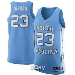 Nike Unc Caroline Du Nord Tar Heels 23 Michael Jordan Cousu Jersey M Mens