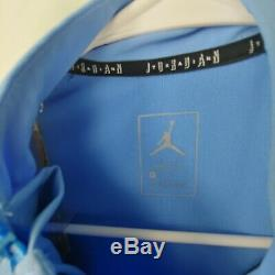 Nike Unc Caroline Du Nord Tar Heels Nike Jordan 23 Tech 1/4-zip Jacket M L