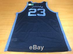 Nike Unc Tar Heels Michael Air Jordan # 23 1982 Jersey Bleu Caroline XL Champion