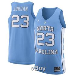 Nike Unc Tar Heels Michael Jordan 23 Maillot De Basket Surpiqué XL Lg Nwt 150 $
