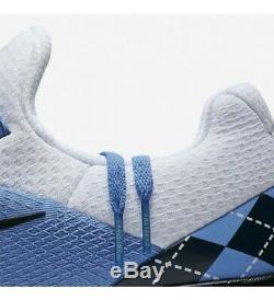 Nike Unc Tarheels Gratuit Entraîneur V7 Semaine Zéro Aa0881-400 Us Taille 12