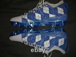 Nike Unc Tarheels Pe Jordan Cleats 12.5 Football Baseball Lacrosse Soccer Nouveau