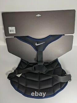 Nike Vapor Catcher's Chest Protector Baseball Softball Unc Tarheels 15 Unisexe