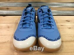 Nike Zoom Trout 4 Turf Tf Baseball Chaussures Red Heels Unc Tar Bleu (917838-440)