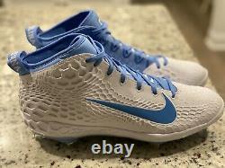 Nike Zoom Truite 5 Tar Heels Unc Crampons De Base-ball En Métal Av4493 100 Hommes Taille 11.5