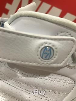 Nike Zoom Vick 3 III Blanc Bleu Unc Tar Heels Colorway 15 Hommes 832698-100