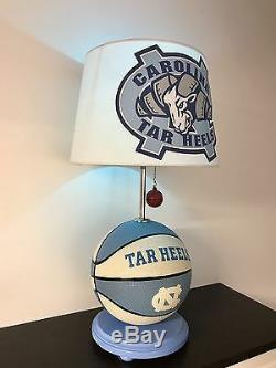 North Carolina Tar Heels Lampe De Basketball Unc March Madness Light Ncaa
