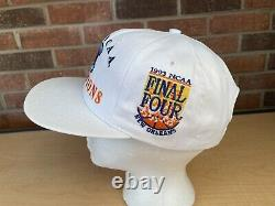 Nos Vtg 1993 Starter North Carolina Tarheels Snapback Hat Cap Unc Ncaa Champs
