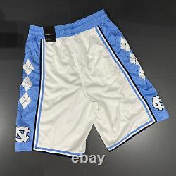 Nouveau Jordan Unc Tarheels Basketball Shorts Mens Sz XL White Blue Cd3170-100