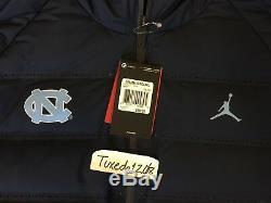 Nouveau! Nike Air Jordan Unc Tar Talons Aeroloft Parka Veste Manteau Tech Tricot 2xl