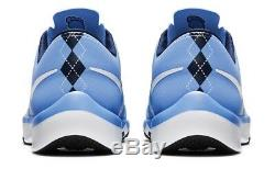 Nouveau Nike Free 5.0 V6 Amp Unc Tarheels 723939-402 Hommes Sz 12 Flywire Trainer 2015