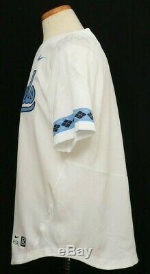 Nouveau Nike North Carolina Tar Heels Unc Drifit Réplique Baseball Jersey Hommes M