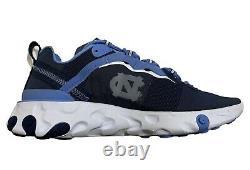 Nouveau Nike Réaction Élément 55 Unc North Carolina Tarheels Ck4852-400 Hommes 6
