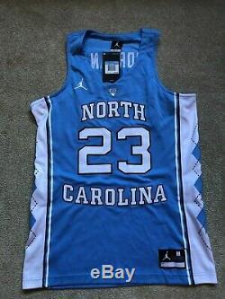 Nouveau Nike Unc Tar Heels Michael Jordan Basketball Jersey Cousu Tn-o 150 $ Moyen