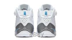 Nouveau Nike Zoom Vick 3 III Blanc Bleu Talons Unc Goudron Colorway 11,5 832698-100 Pour Hommes