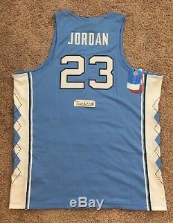 Nouveaux 150 $ Nike Michael Jordan Unc Tar Heels Taureaux Jersey Cousu Sewn X-large XL