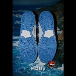 Nouvelles Roues Nike Dunk High Premium Sb Bttys Unc Sz 12 Université, Bleu, Roues Neuves Ds