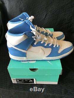 Nouvelles Roues Nike Dunk High Premium Sb Bttys Unc Sz 14 Université Bleu - Nouveau