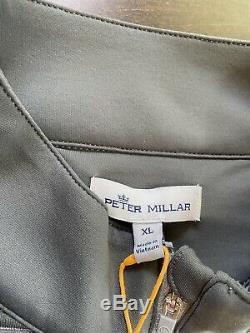 Peter Millar Crown Sport Full-zip Unc Tar Heels North Carolina XL Tn-o