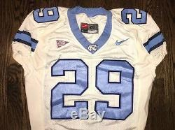 Portés Caroline Du Nord Nike Occasion Tar Heels Unc Football Jersey N ° 29 Taille 48