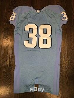 Portés Caroline Du Nord Nike Occasion Tar Heels Unc Football Jersey N ° 38 Taille 46