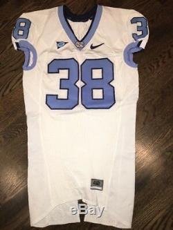 Portés Nike North Carolina Tar Heels Occasion Unc Football Jersey # 38 Taille 42