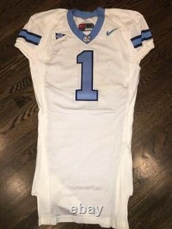 Portés Talons Nike North Carolina Tar Occasion Unc Football Jersey # 1 Taille 50