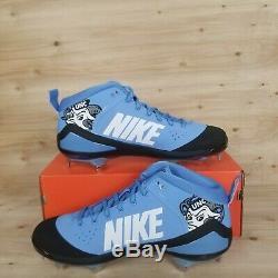 Promo Nike Force Zoom Trout 4 Unc Ah7577-401 Talons De Baseball Hommes Sz. 15