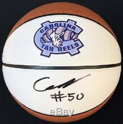 Psa / Dna Unc Tar Heels Cole Anthony Signé Autographié Basketball # 1 Pick