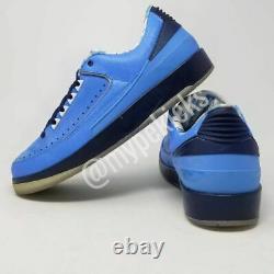 Rare Jordan II 2 Retro Low Promo Unc Tarheels Pe Sz 9 Joueur Exclusive Chaussures