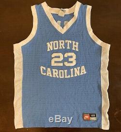 Rare Millésime Nike Unc North Carolina Tar Talons Michael Jordan Jersey De Basket-ball