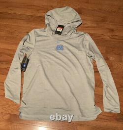 Rare Nike North Carolina Tar Heels Unc Dry Tech Hoodie Large Nwt 150 $