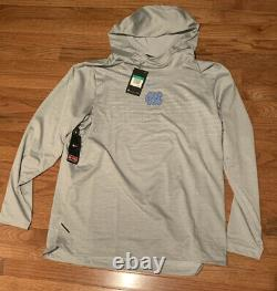 Rare Nike North Carolina Tar Heels Unc Dry Tech Hoodie XL T.n.-o. 150 $