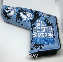 Rare Scotty Cameron Tarheels 4 Major Putter Couverture Bnoob Unc Tar Heel Titleist