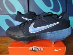 Rare Unc Nike Alpha Huarache Elite Pe Carolina Tar Talons 10.5 Crampons Av2470 403