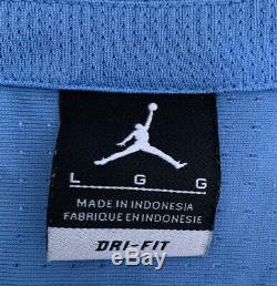 Rare Vintage 1982 Michael Jordan Unc Tarheels Jordan Jersey Authentique Taille L