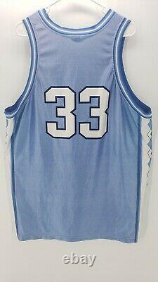 Rare Vintage 1990s Team Nike Unc Tarheels #33 Antawn Jamison Jersey Taille XXL