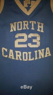 Rare Vintage Nike Unc Carolina Tar Heels Années 90 Cousu Jordan Bball Jersey Hommes XL 48
