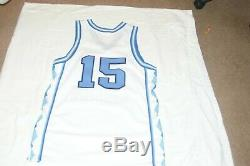 Rare Vintage Nike Unc Chaussures De Talon De Goudron Caroline Du Nord Vince Carter Basketball Jersey