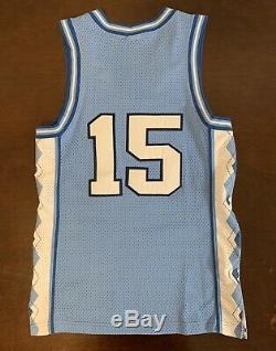 Rare Vintage Nike Unc Tar North Carolina Chaussures Tar Heels Jersey De Basket