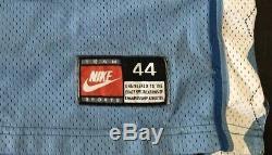 Rare Vintage Nike Unc Tar Talons Nike Caroline Du Nord Vince Carter Stitched Jersey 44