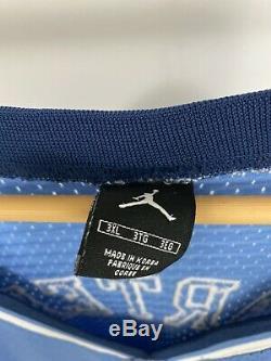 Rare Vtg Nike Unc Caroline Du Nord Vince Carter # 15 Tar Heels Jersey Taille 3xl 2