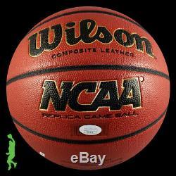 Roy Williams Autographiés Signés Ncaa Basketball Balle Unc Tar Heels Jsa Coa